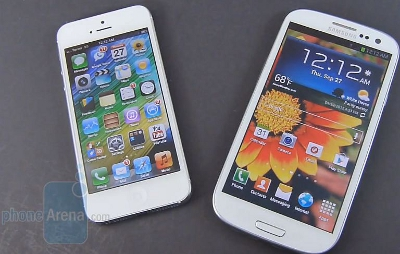 DROP TEST GALAXY S3 VS IPHONE 5