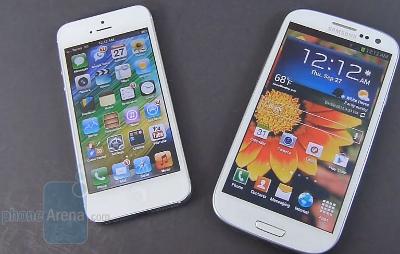 DROP TEST GALAXY S3 VS IPHONE 5