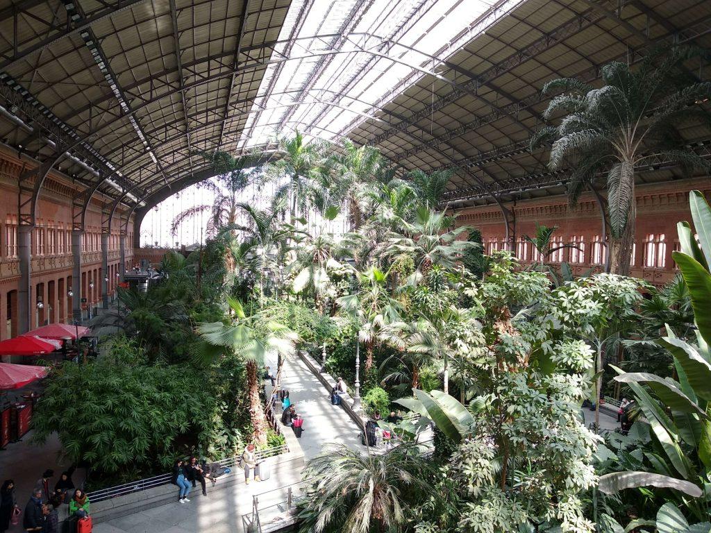 Fotografia stazione Madrid