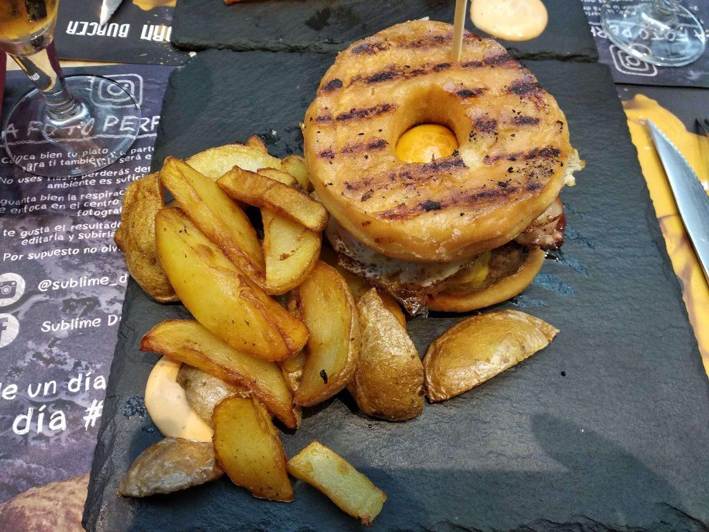 fotografia macro hamburger
