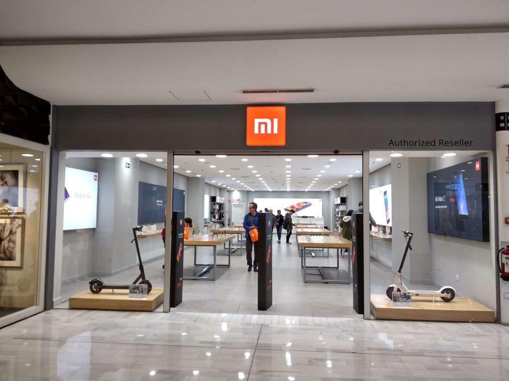 Fotografia store Xiaomi Madrid